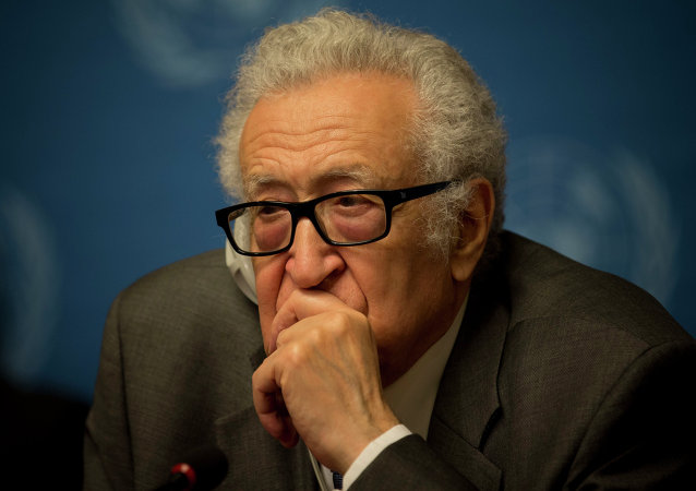 Lajdar Brahimi, ex enviado especial de la ONU y la Liga Árabe para Siria