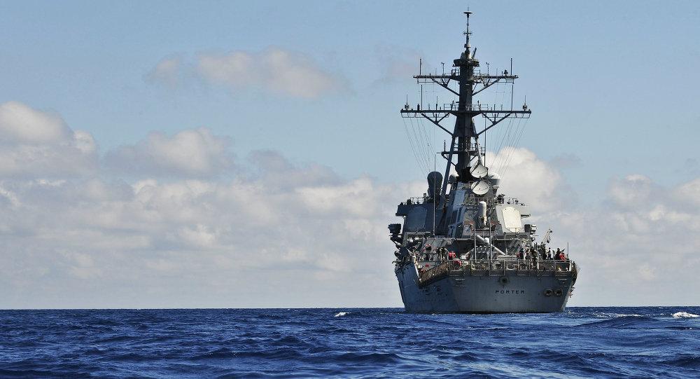Destructor estadounidense USS Porter