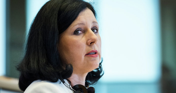 Vera Jourová, comisaria europea de Justicia