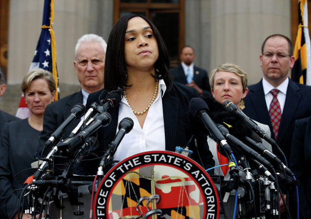 Marilyn Mosby, la fiscal federal de Maryland