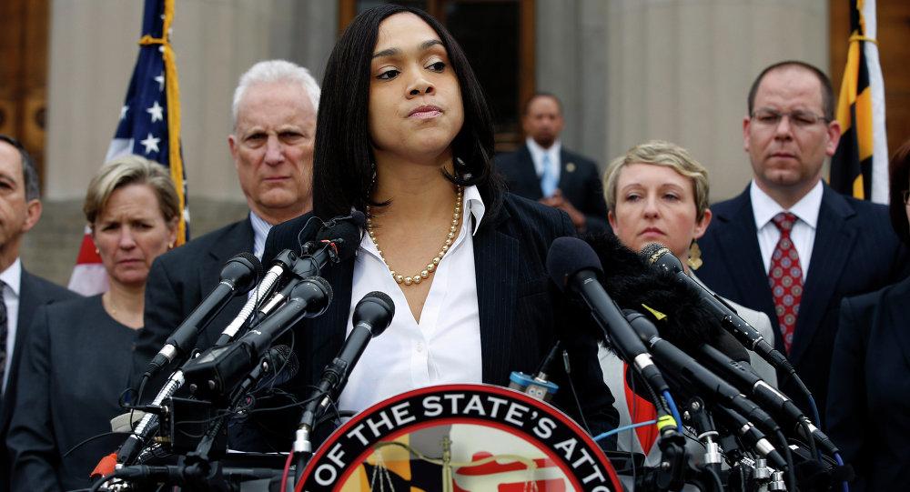 Marilyn Mosby, la fiscal federal de Maryland
