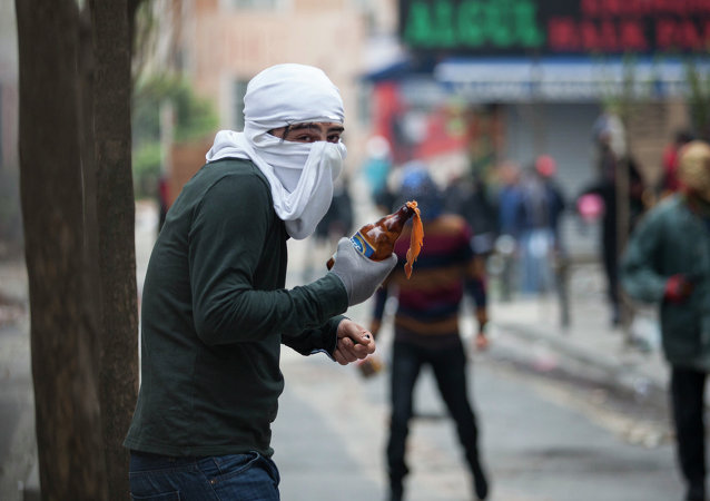 Manifestaciones en Estambul