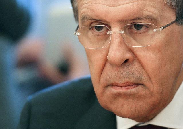 El ministro de Exteriores de Rusia, Serguéi Lavrov