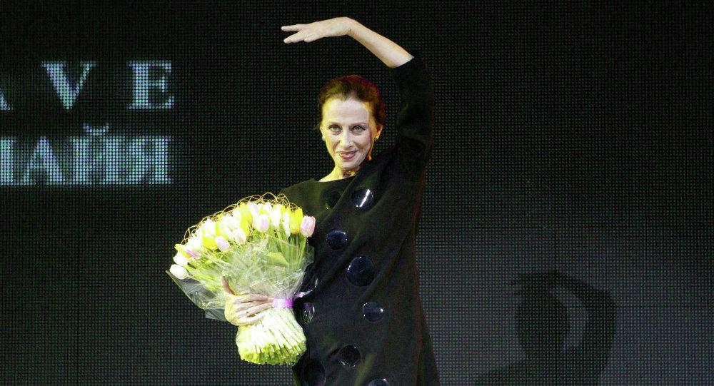 Maya Plisétskaya, bailarina rusa