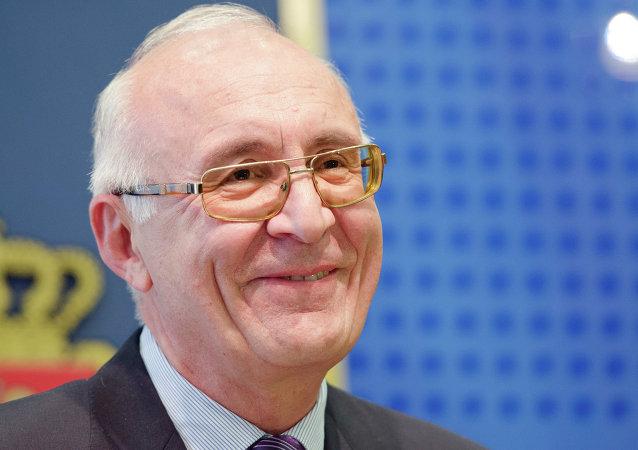 Zuráb Abashidze, representante especial del primer ministro de Georgia para las relaciones con Rusia