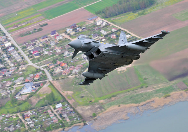 Eurofighter Typhoon de las Fuerzas Armadas Británicas