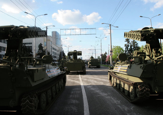 Ensayo de la Parada de la Victoria en Donetsk  (Archivo)