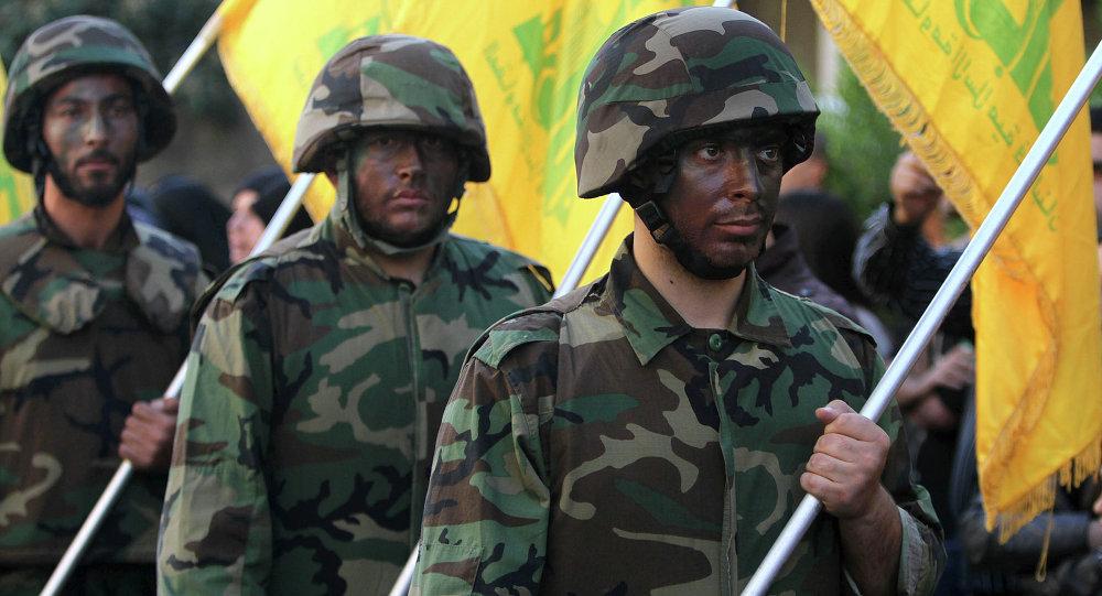 Milicias de Hizbulá (imagen referencial)