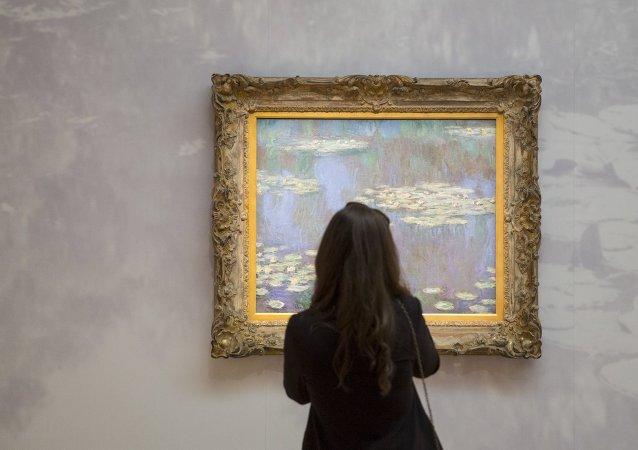 Vendido por $ 54 millones un cuadro de la serie de Monet sobre nenúfares