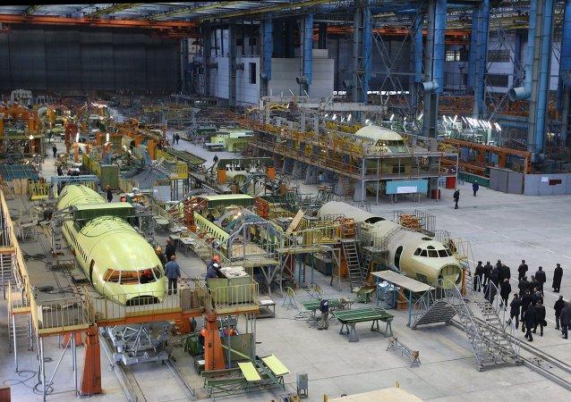 Fabricante ucraniano de aviones Antónov (Archive)