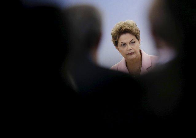 Dilma Rousseff, presidenta de Brasil (archivo)