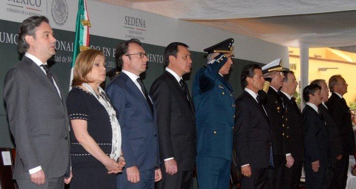 Homenaje póstumo a los militares caídos en el estado de Jalisco