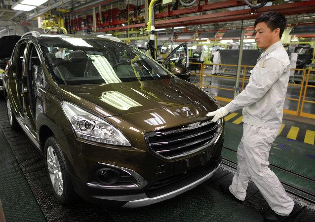 Fábrica de Dongfeng Motor Corp.