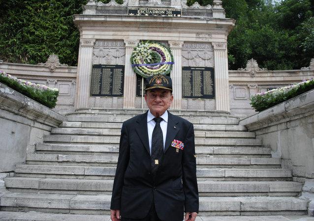 Fernando Nava, veterano del escuadrón aéreo mexicano