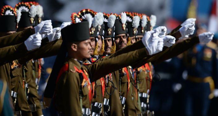 Militares del Ejército de la India (archivo)