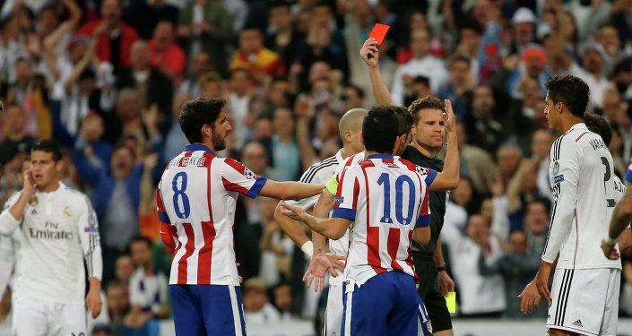 Partido entre Real Madrid y Atletico Madrid en La Liga