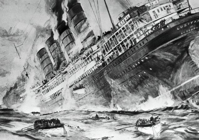 Irlanda honra a las víctimas del hundimiento del Lusitania