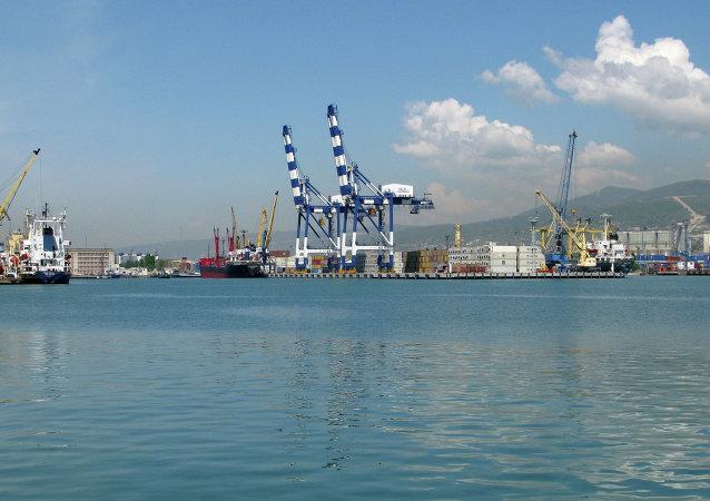 Puerto de Novorossiysk (archivo)