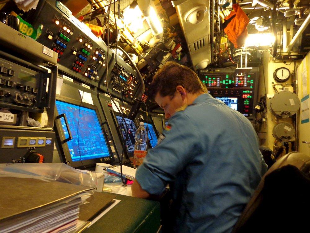 A bordo del submarino alemán del proyecto 212A U33