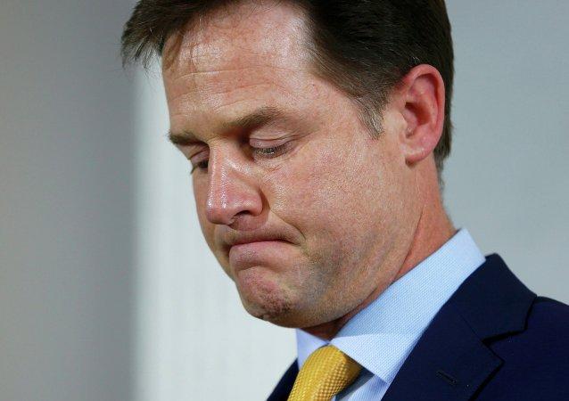 Nick Clegg, líder del partido Liberal-Demócrata