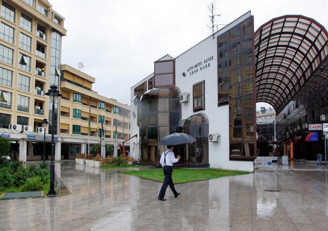 En las calles de Podgorica, la capital de Montenegro