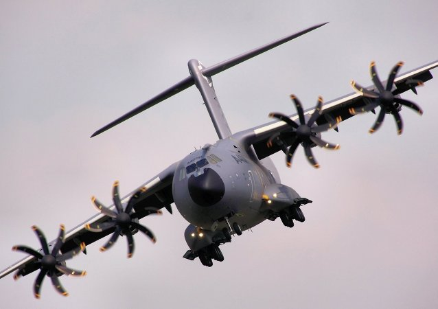 Avión militar de transporte Airbus A400M
