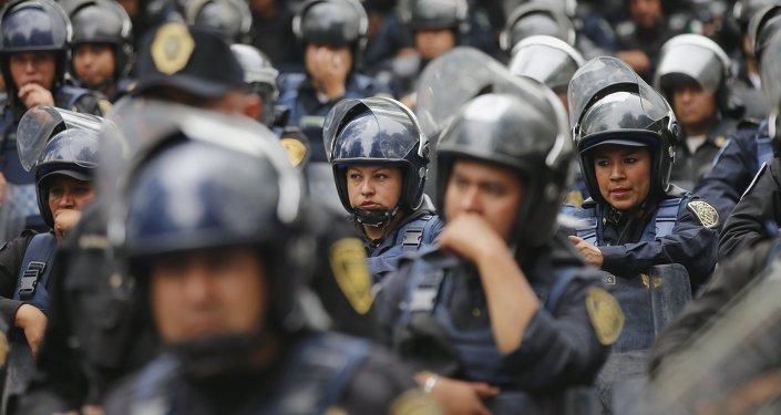 Policía de México (imagen referencial)