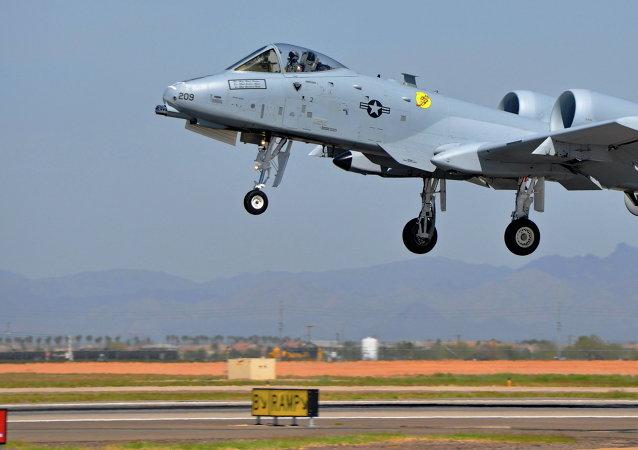 A-10A Thunderbolt II (Archivo)
