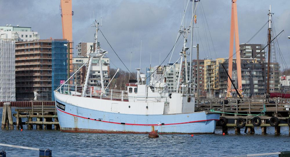 Marianne de Gotemburgo, primer barco de la Flotilla de la Libertad III