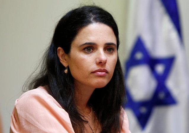 Ayelet Shaked, diputada de La Casa Judía