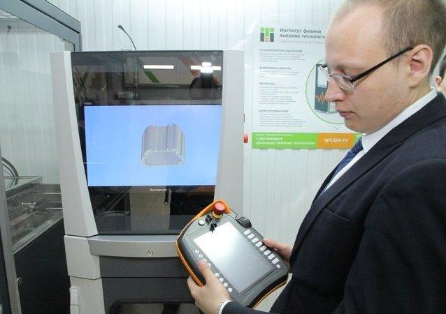 Impresora 3D desarrollada por la Universidad Politécnica de Tomsk (UPT)