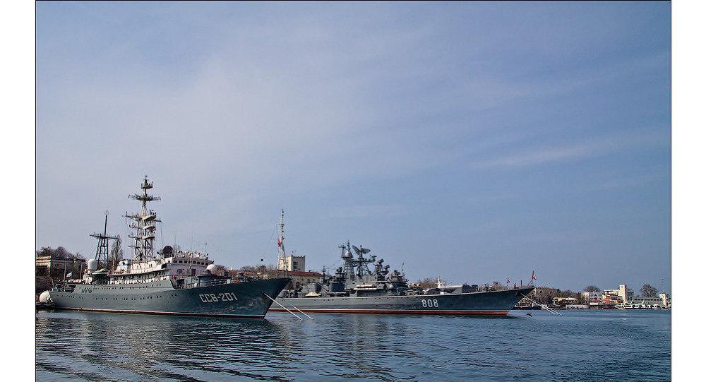Российский Черноморский флот в Севастополе