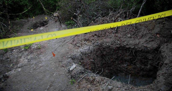 Fosas clandestinas en México