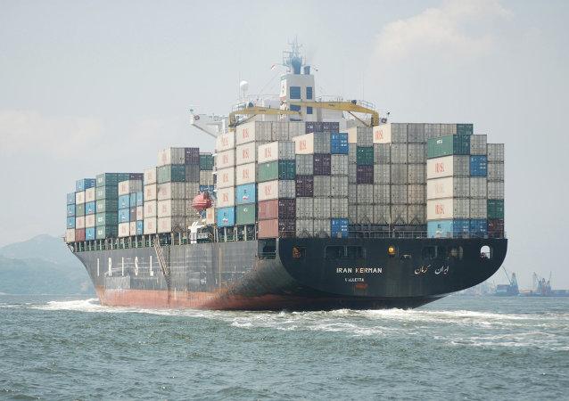 Un carguero iraní (Archivo)
