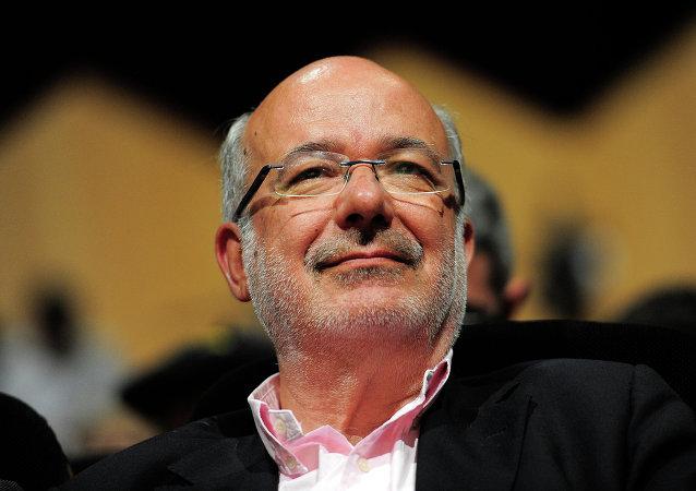 Josep Maria Terricabras, eurodiputado por Esquerra Republicana de Catalunya (archivo)