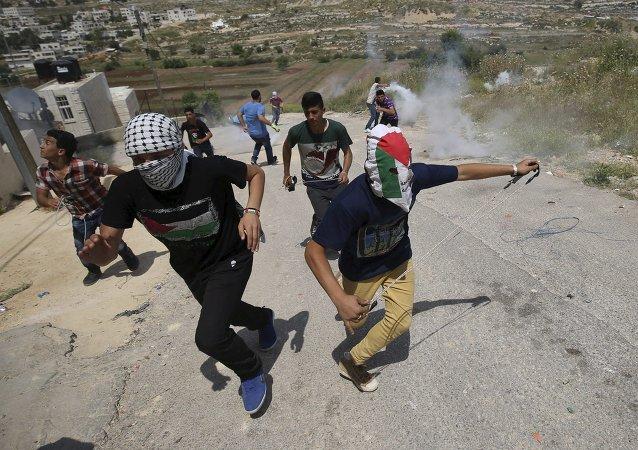 Los palestinos conmemoran con protestas su expulsión en 1948