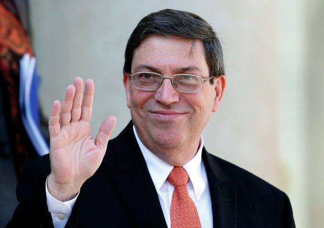 Bruno Rodríguez, ministro de Relaciones Exteriores de Cuba