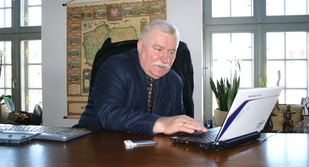 El ex presidente polaco Lech Walesa