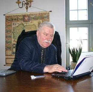 Lech Walesa, ex presidente de Polonia