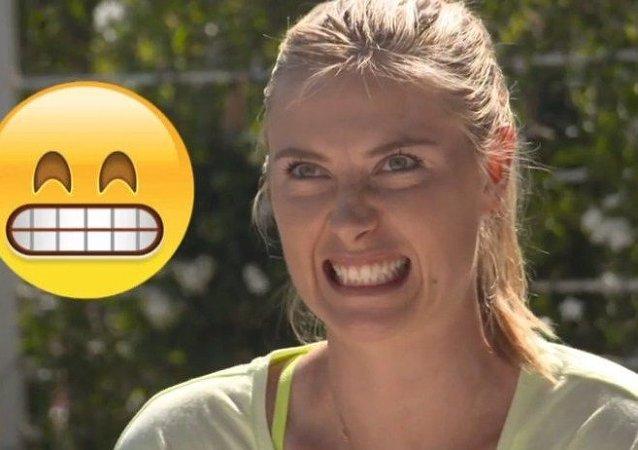 Las mejores tenistas representan los emoticonos más populares