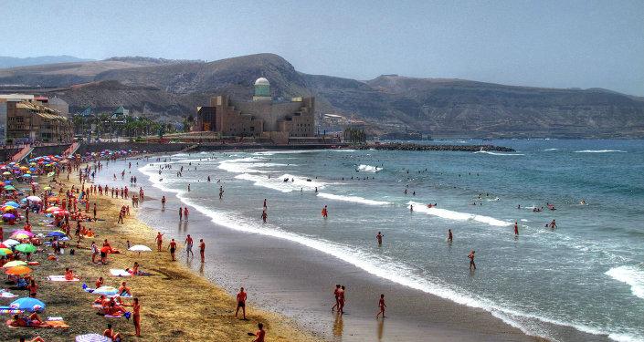Playa española