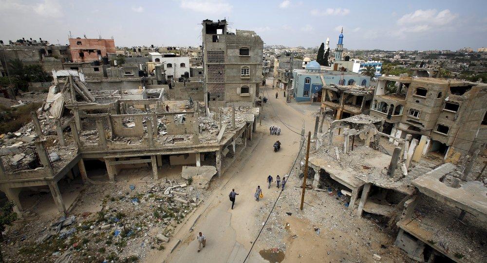 Situación en Franja de Gaza