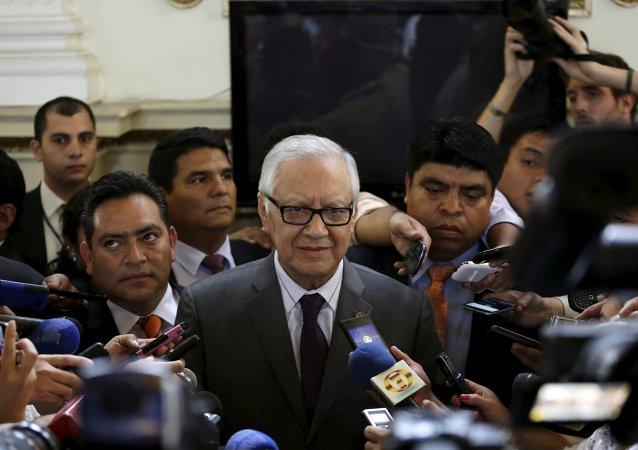 Alejandro Maldonado, nuevo vicepresidente de Guatemala