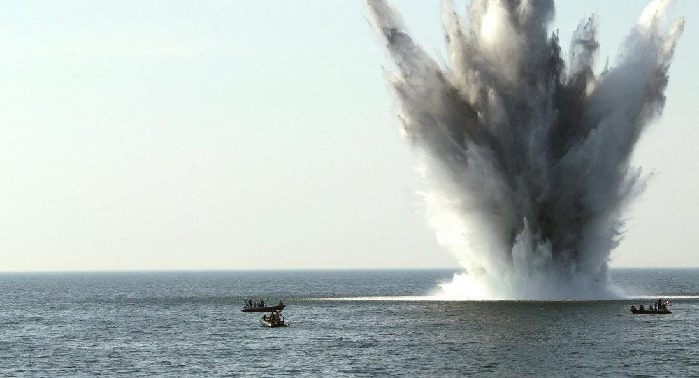 Maniobras Open Spirit en el mar Báltico (archivo)