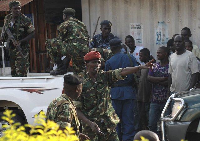 Situación en Burundi