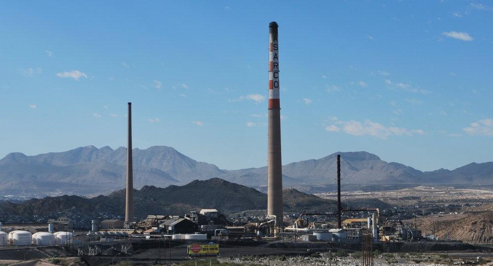 Minería de la empresa Grupo México