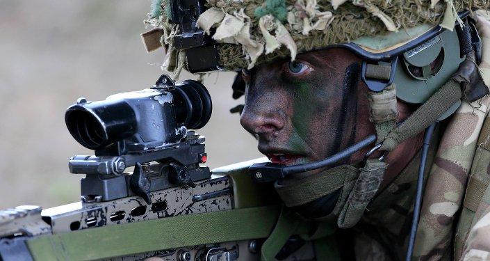 Soldado británico (archivo)