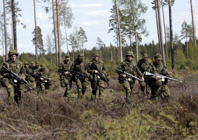 Soldados de la OTAN en Estonia (archivo)