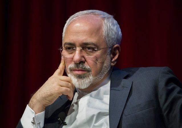 Mohammad Javad Zarif. ministro de Asuntos Exteriores de Irán
