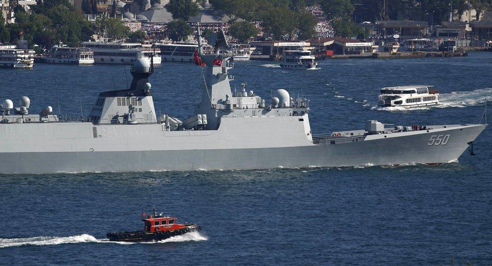 Buque de la Armada de China (archivo)
